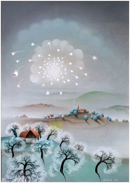 White morning