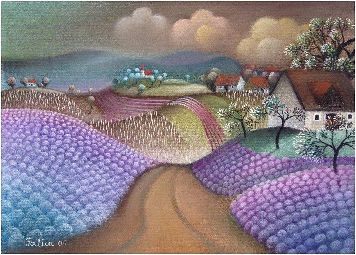 Lavender road