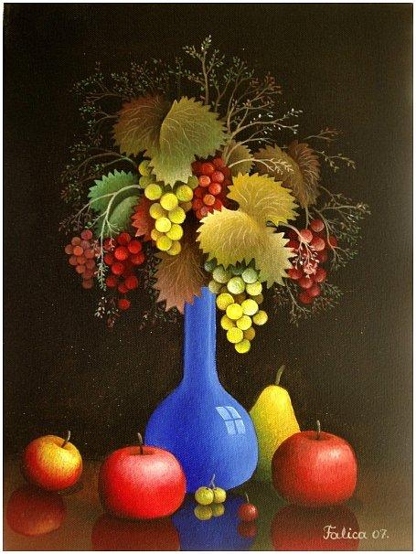 Bouquet of grapes
