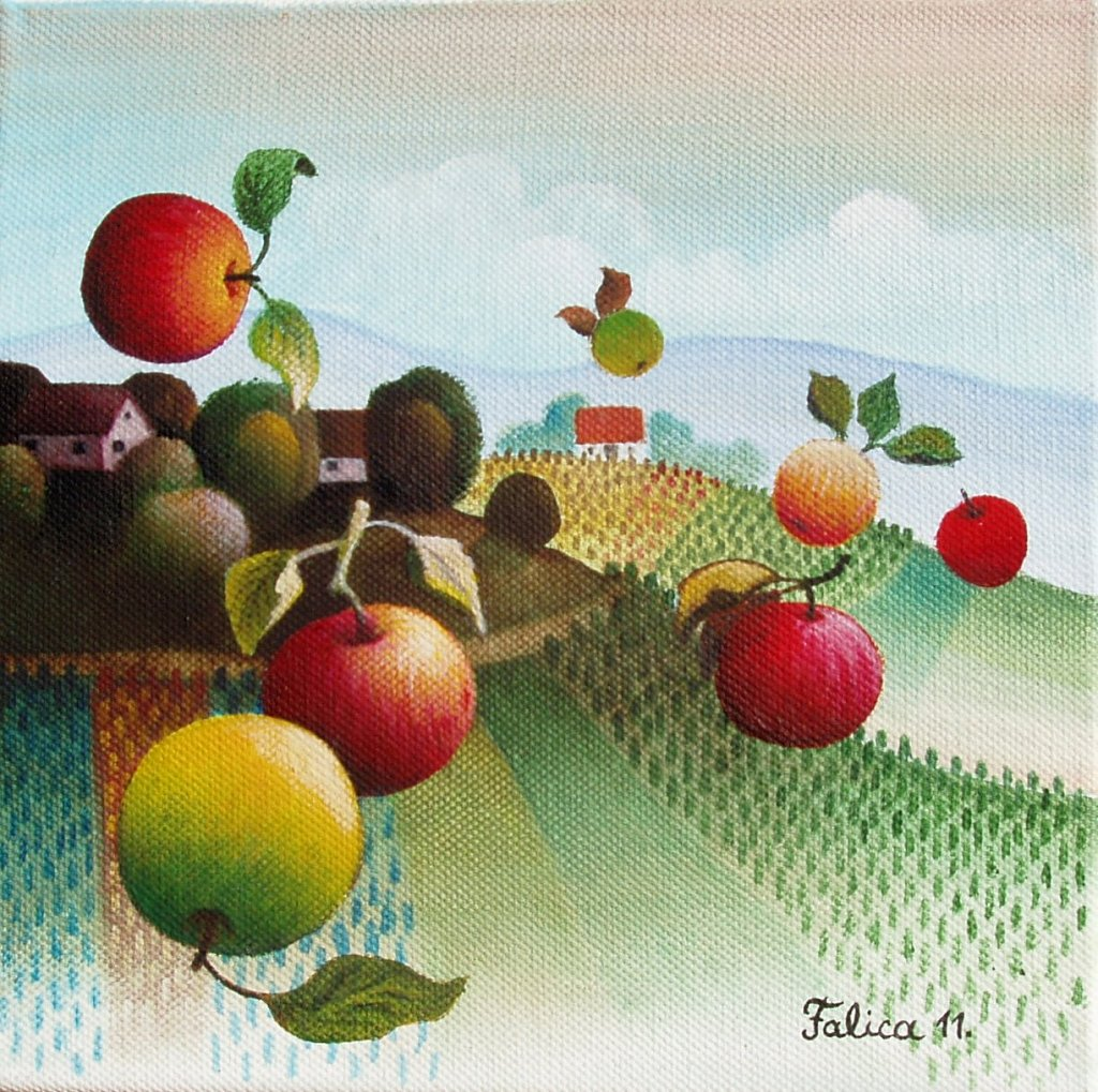 Apples are flying again